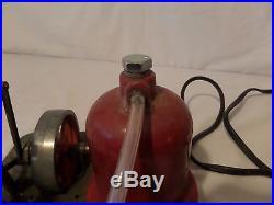 (Lot #123) Vintage Junior Engineer Live Stationary Model Steam Engine Electric