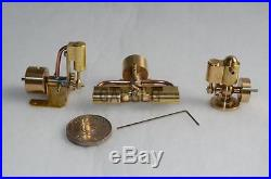 M22+M27 Mini Steam Engine Modle+M28 Mini Two-cylinder Steam Engine Modle(3 sets)