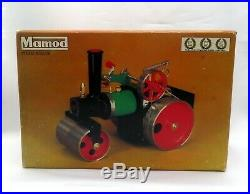 MAMOD STEAM ENGINE ROAD ROLLER SRla MADE IN ENGLAND 1970'S NEW IN BOX