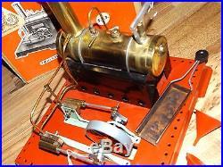 MAMOD TWIN CYLINDER SUPERHEATED STEAM ENGINE #SE3 WithORIGINAL BOX