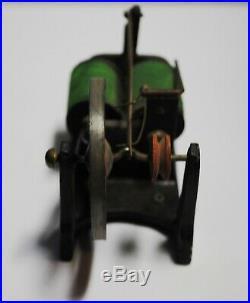 MESCO Style Antique Toy Flywheel Electric Motor Steam Engine Original