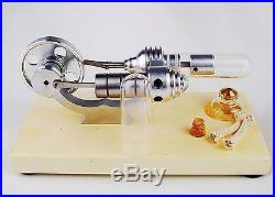 Magic show Hot Air Stirling Engine Steam Engine Model Educational Toy Kits KM03