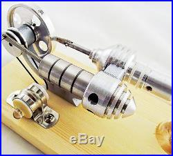 Magic show New LED Stirling Engine Steam Engine Model Educational Toy Kits KM01