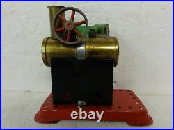 Mamod MM1 Toy Steam Engine Stationary Live Model Flywheel Made in England