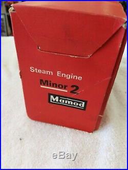 Mamod Minor 2 Steam Engine in Box made in England