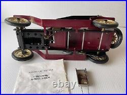 Mamod Steam Engine Limousine Burgundy 4 Seater 16 Model SA1LK SM 1403-B