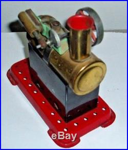 Mamod Steam Engine Powered Toy Made In England Wheel Moves Freely