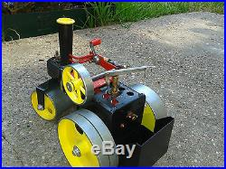 Mamod Steam Engine, Steam Roller SR1A, Runs Well