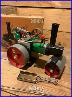 Mamod Steam Engine Toy Roller SR la Road Tractor Power Original Box Nice Boiler