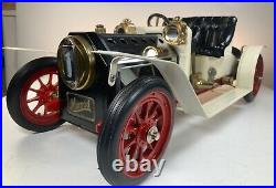 Mamod Steam Engine car model SA1 Roadster made England withbox & Tools CLEAN A1