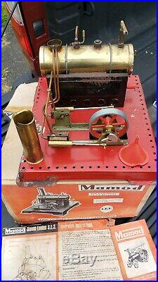 Mamod Twin Cylinder Steam Engine S. E. 3. With Box Manual