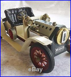 Mamod of England Cream Steam Engine Roadster 1319 Nice Condition! LOW RESERVE