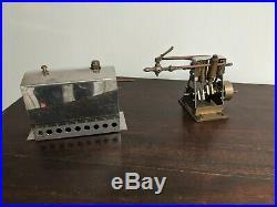 Marine Steam Engine and Boiler for model Boat 2 cylinder
