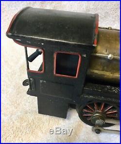 Marklin 1 Gauge Live Steam Locomotive Engine Toy Train After 1910 10 1/2'' Long