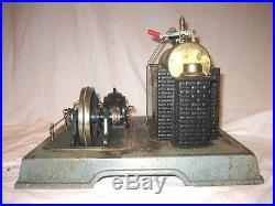 Marklin 4097(i think) live steam engine with 3392 Dynamo circa 1930s