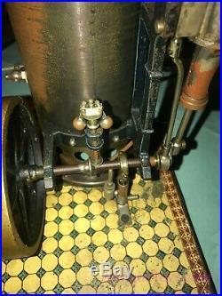 Marklin/Gebrüder Maerklin Vertical Steam Engine Dampfmaschine 4112/11 withBurner