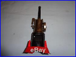 Marx #J-5322 Vertical Steam Engine with3 Operative Accessories withOriginal Box's