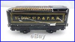 Marx Trains #1 Steam Locomotive Engine Tender Featured In O, Brian's Toy Trains