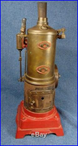 Marx Vertical Steam Engine Boiler And Lonergan Hit & Miss Engine Oiler AS IS