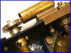 Meccano 1929 Live Steam Engine Tin Toy Rare