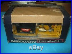 Meccano 1960s Reversing Steam Engine, complete, boxed, in excellent condition