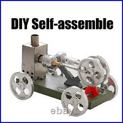 Metal Mini Steam Stirling Engine Motor Car Model DIY Science Toy Creative