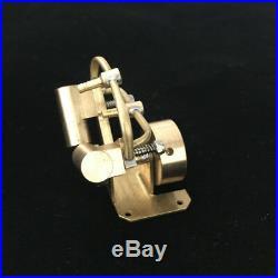 Micro Steam Engine Model Toy Twin Cylinder Mini Steam Engine Generator DIY Motor