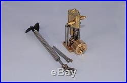 MicrocosmQ1 Vertical steam engine model with Propeller