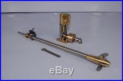MicrocosmQ1 Vertical steam engine model with Verstellprope model