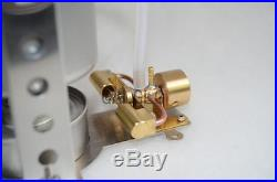 Microcosm M28 Mini Two-cylinder Steam Engine Molde Boiler combination