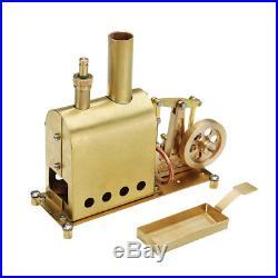 Microcosm Mini Steam Boiler Steam Engine Model Gift Collection DIY Stirling Engi