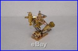 Microcosm Q2 V-twin cylinder steam engine Live Steam Model