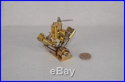 Microcosm Q2 V-twin cylinder steam engine Live Steam Model