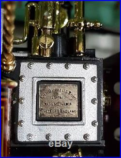 Midsummer 1/24 Model Steam Engine 3610 Burrell Scenic Showmans Alfred Payne rare
