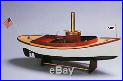 Midwest 958 Fantail Launch II Steam Engine Kit 19 Boat