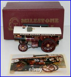 Milestone Models 1/58 White Metal Burrell Scenic Showmans Engine General Gough