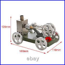 Mini Heat Steam Stirling Engine Motor Car Model Kit DIY Science Toy For Kids
