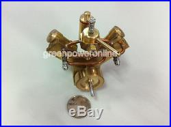 Mini Hot Live Steam Engine Twin Cylinder Marine Ship Model education Toy BJ002