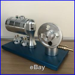Mini Live Steam Engine Motor Toy with Boiler DIY Boat Car Truck Power Motor Toy