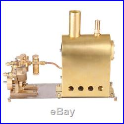 Mini Steam Engine Model Toy Creative Gift Set with Boiler