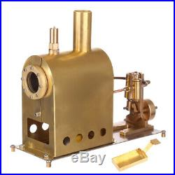 Mini Steam Engine Model Toy Creative Gift Set with Boiler M1B