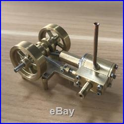 Mini Steam Engine Tractor Model Toy DIY Micro Power Generator Engine Motor Part