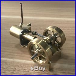 Mini Steam Engine Tractor Model Toy DIY Micro Power Generator Engine Motor Part