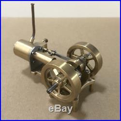 Mini Steam Engine Tractor Model Toy DIY Mini Boat Car Model Steam Engine Motor