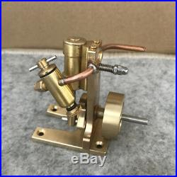 Mini Vertical Cylinder Double Acting Oscillating Steam Engine Model Toy DIY Moto