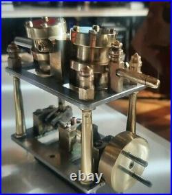 Model Steam Engine Twin piston
