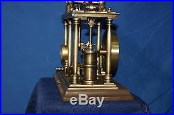 Model live of a steam engine beam