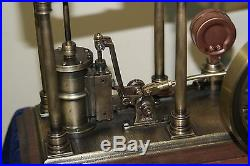 Model live of a steam engine beam