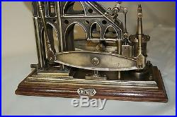 Model live of a steam engine double beam