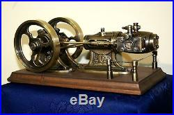 Model live steam engine